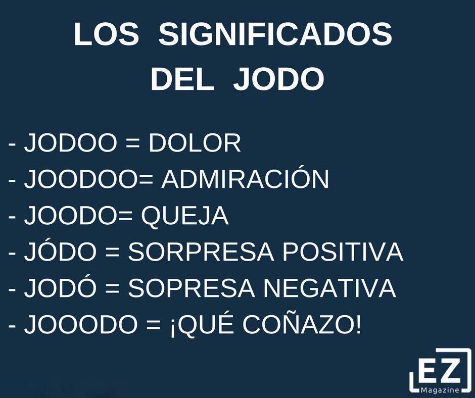 EL JODO